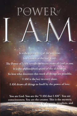 The Power of I AM is the crème de la crème of the wisdom and power of I AM from Neville Goddard, Joseph Murphy, Walter C. Lanyon, Walter Devoe, Lillian DeWaters, Emmet Fox, Ella Wheeler, Christian D Larson, Edna Lister and Thomas Troward. No metaphysical library should be without this book. We are sure that with each successive reading you will come to the realization that there is truly power in the speaking of I AM and that by understanding and applying the wisdom and principles in this book you can transform your life in ways that nothing else could do for you. For when you learn that what you attach to your I AM, you are creating your life, you can never go back. Become aware of the power we all possess and be amazed at how easily you can transform your life. The Secret Law Universe  Come join us and like us on Facebook.    facebook.com/ThePowerOfIAMTheBook