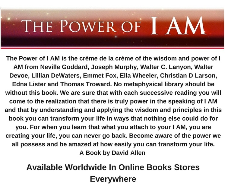 The Power of I AM, David Allen, Amazon, book stores, buy joel osteens book too